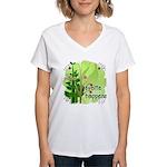 Pilates Svelte Happens Women's V-Neck T-Shirt