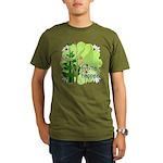 Pilates Svelte Happens Organic Men's T-Shirt (dark