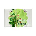 Pilates Svelte Happens Rectangle Magnet (10 pack)