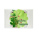 Pilates Svelte Happens Rectangle Magnet (100 pack)