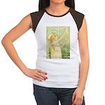 Absinthe Robette Women's Cap Sleeve T-Shirt