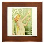 Absinthe Robette Framed Tile