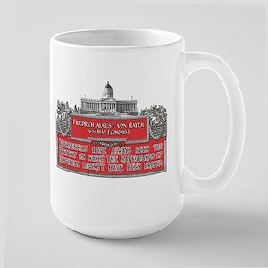VON HAYEK Large Mug