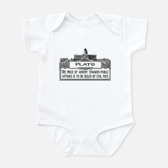 PLATO SPEAKS Infant Bodysuit