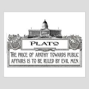 PLATO SPEAKS Small Poster