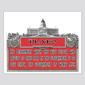 PLATO ON PUNISHMENT OF THE WI Small Poster