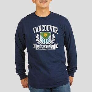 Vancouver Long Sleeve Dark T-Shirt