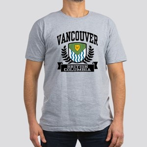Vancouver Men's Fitted T-Shirt (dark)