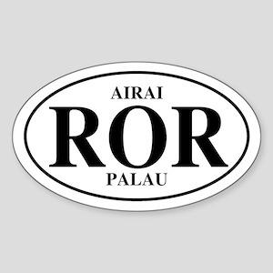 ROR Airai Oval Sticker