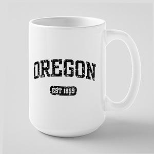 Oregon Est 1859 Large Mug