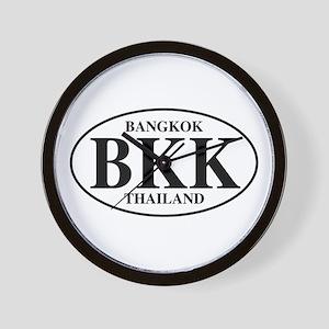 BKK Bangkok Wall Clock