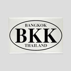 BKK Bangkok Rectangle Magnet