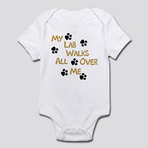 Walking Labrador Infant Creeper