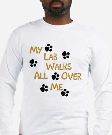 Walking Labrador Long Sleeve T-Shirt