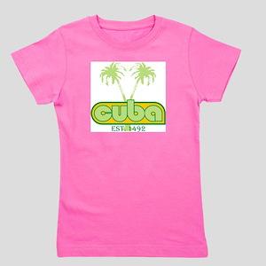Cuba Vintage Ash Grey T-Shirt