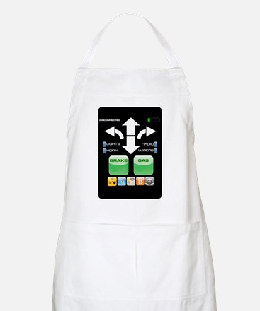 The Doctor's Evil Remote Apron