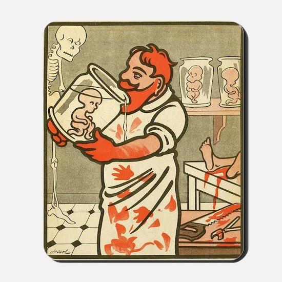L'Assiette au Beurre 1907 Mousepad