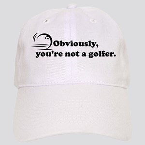 Obviously, not a golfer Cap