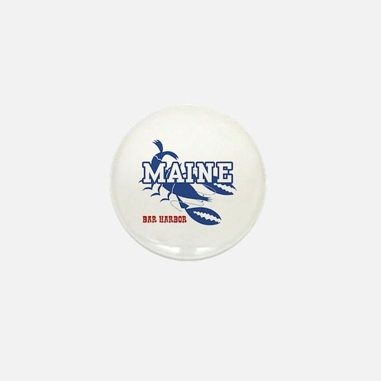 Maine Bar harbor Mini Button