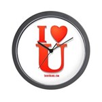 I Love You Valentine Day Wall Clock