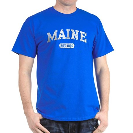 Maine Est 1820 Dark T-Shirt