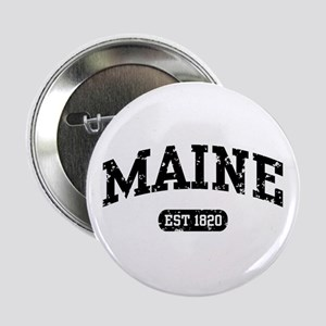"Maine Est 1820 2.25"" Button"
