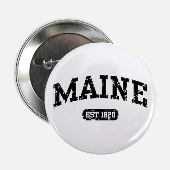 """Maine Est 1820 2.25"""" Button"""