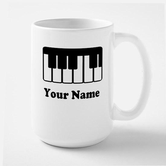 Personalized Piano Keyboard Mugs