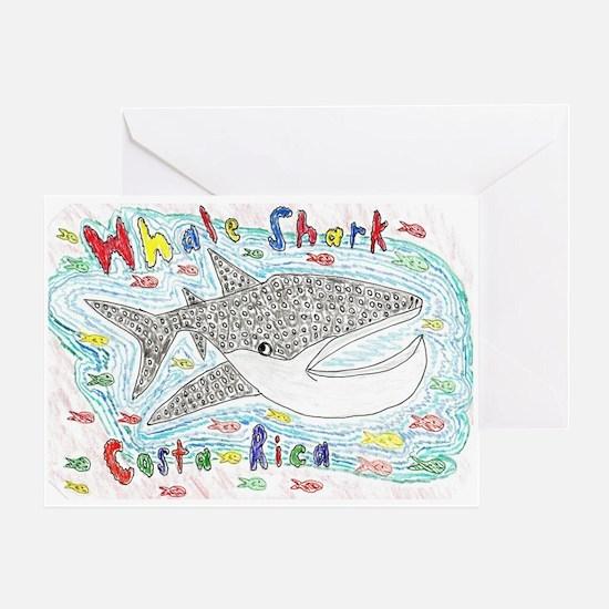 Whale Shark Greeting Card