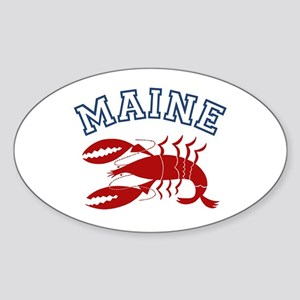 Maine Lobster Oval Sticker
