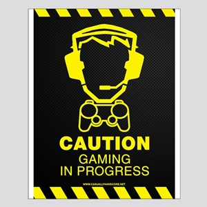 Gaming In Progress Small Poster