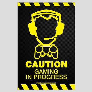 Gaming In Progress Large Poster