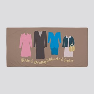 Golden Girls Outfits Beach Towel