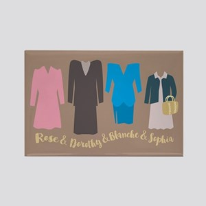 Golden Girls Outfits Magnets