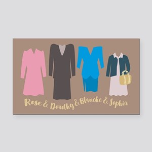 Golden Girls Outfits Rectangle Car Magnet