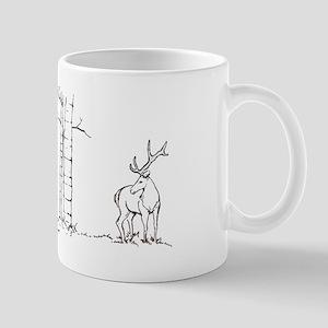 Elk art Mug