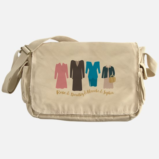 Golden Girls Outfits Messenger Bag
