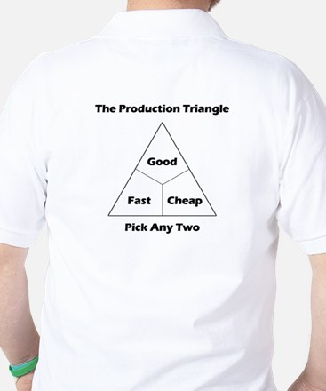 The Production Triangle Golf Shirt