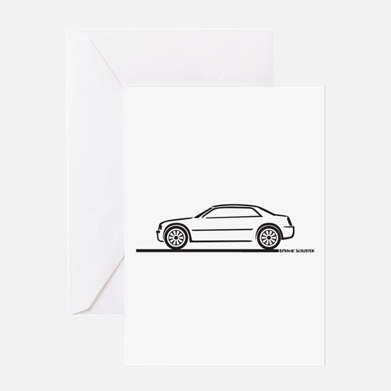 Chrysler 300C Greeting Card