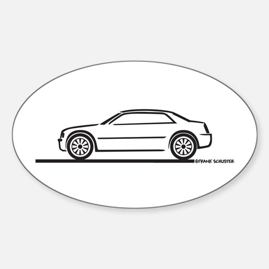Chrysler 300C Oval Decal