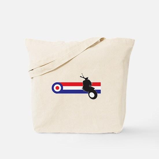 VESPA STRIPES Tote Bag