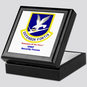 Security Forces Keepsake Box