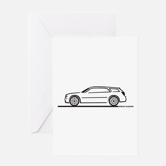 Chrysler 300 Station Wagon Greeting Card