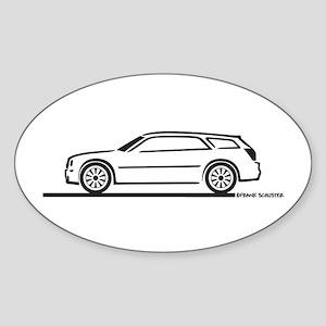 Chrysler 300 Station Wagon Oval Sticker