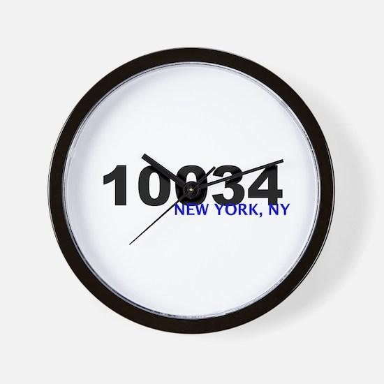 10034 Wall Clock