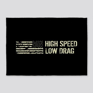 U.S. Military: High Speed Low Drag 5'x7'Area Rug