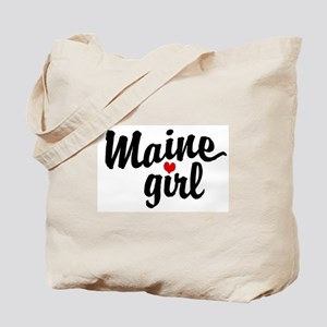 Maine Girl Tote Bag