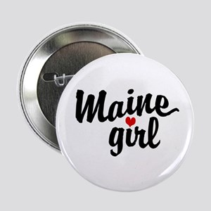 Maine Girl Button