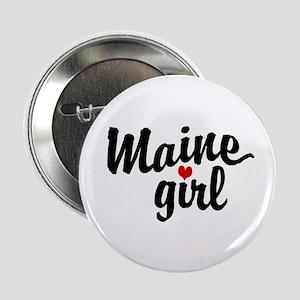 Maine Girl Button