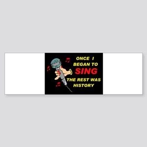AND NOW LOOK AT ME! - Bumper Sticker